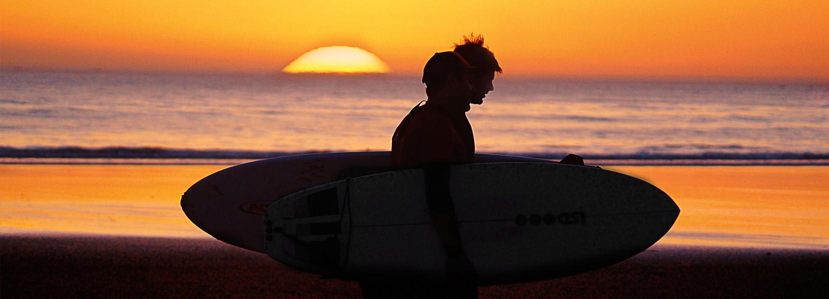 Auf Reisen Daniela Römer Sei startklar surfen surfer footer